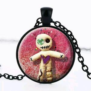 Voodoo doll necklace monster kawaii bonus gift